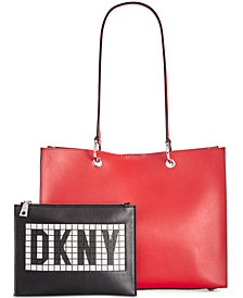DKNY Mott Tile Logo Tote, Created for Macy's