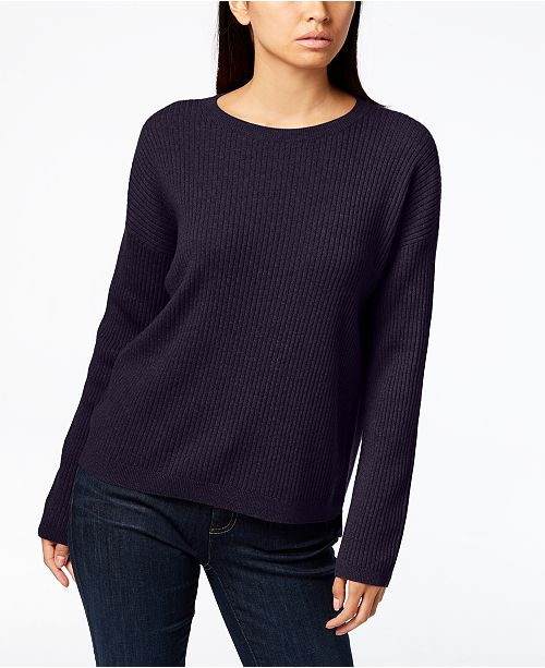 3acc8521280 ... Eileen Fisher Scoop-Neck Cashmere Sweater