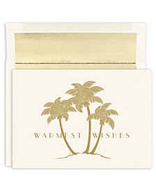 Masterpiece Studios Gold Palms Boxed Cards