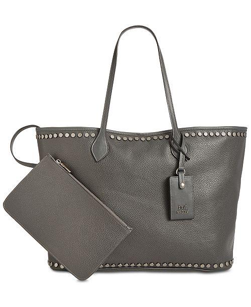 12854c53f9b Steve Madden Vivi Studded Work Tote   Reviews - Handbags ...