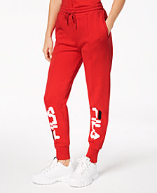 Fila Fleece Logo Joggers