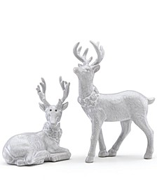 Alpine Reindeer Salt & Pepper Shaker Set