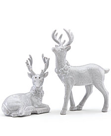 Lenox Alpine Reindeer Salt & Pepper Shaker Set