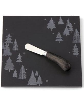 Balsam Lane  Slate Cheeseboard & Knife