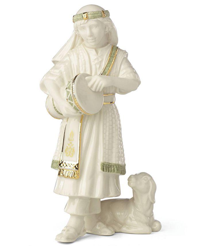 Lenox - First Blessing Nativity Drummer Boy Figurine