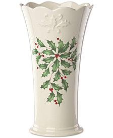 Lenox Holiday Archive Vase