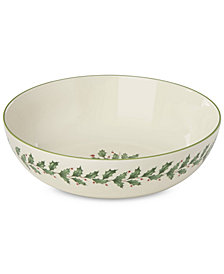 Lenox Holiday Entertaining Pasta Serving Bowl