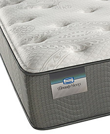 "ONLINE ONLY! BeautySleep 12"" White Pass Luxury Firm Mattress- Queen"