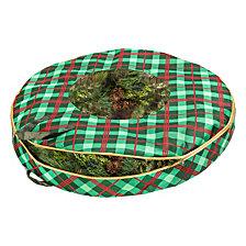 Honey Can Do Christmas Wreath Storage Bag