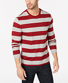 Tommy Hilfiger Men's Lexington Stripe Pocket T-Shirt