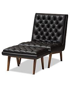 Rennate Chair & Ottoman Set, Quick Ship