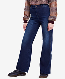 Free People Brooke Flare-Leg Jeans