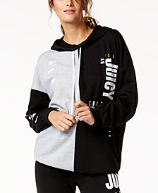 Juicy Couture  Colorblocked Logo Hoodie