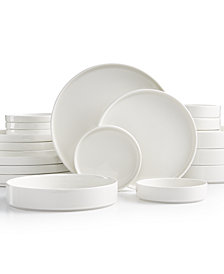 Goodful™ Stackable White 20-Pc. Dinnerware Set, Service for 4