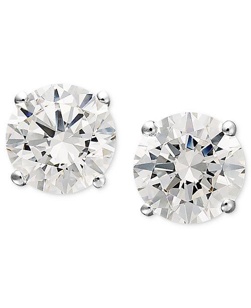 3501d4874c50b7 ... Arabella 14k White Gold Earrings