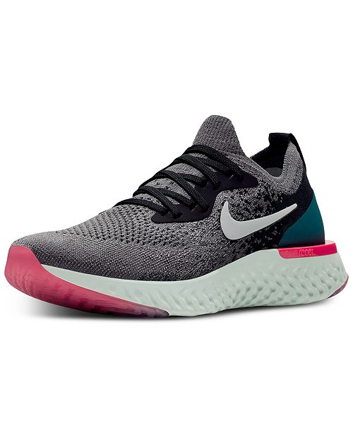 Nike Women s Epic React Flyknit Running Sneakers from Finish Line ... 64c21e8cac