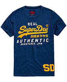Superdry Men's Vintage-Inspired Authentic Duo T-Shirt