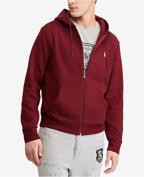 64806f6ea419 ... Hoodie  Polo Ralph Lauren Men s Big   Tall Double-Knit Full-Zip ...