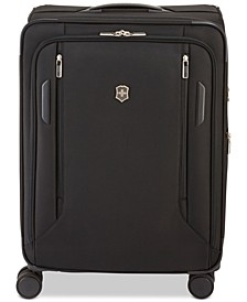 "VX Avenue 25"" Medium Expandable Softside Spinner Suitcase"