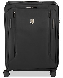 "Victorinox Swiss Army VX Avenue 31"" Extra-Large Expandable Softside Spinner Suitcase"