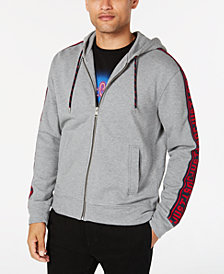 Just Cavalli Men's Zip-Front Hoodie