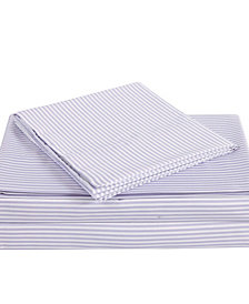 Truly Soft Everyday Stripe 4 Piece Full Sheet Set