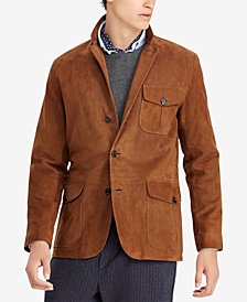 Polo Ralph Lauren Men's Classic Fit Suede Sport Coat