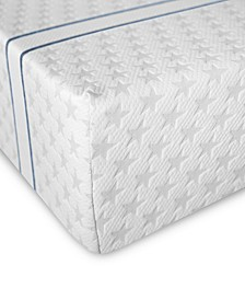 "10"" Plush Memory Foam Mattress- California King, Mattress in a Box"