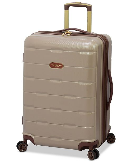 "London Fog Brentwood 24"" Hardside Spinner Suitcase, Created for Macy's"