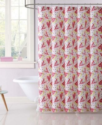 Kids Fruity Printed Shower Curtain