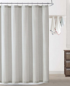 Oceanfront Resort Chambray Coast Shower Curtain