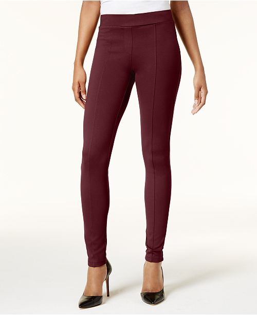 Style & Co Petite Stretch Ponte Leggings, Created for Macy's