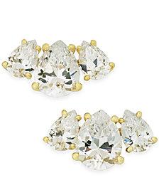 Danori Crystal & Stone Stud Earrings, Created for Macy's