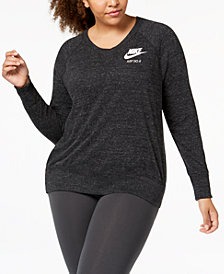 Nike Plus Size Sportswear Gym Vintage Top