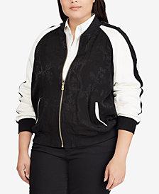 Lauren Ralph Lauren Plus Size Bomber Jacket