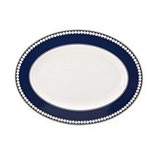 Mikasa Akoya Cobalt Oval Platter