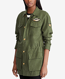 Lauren Ralph Lauren Canvas Utility Jacket