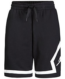 Jordan Big Boys Diamond Fleece Shorts