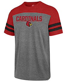 '47 Brand Men's Louisville Cardinals Tri-Colored T-Shirt