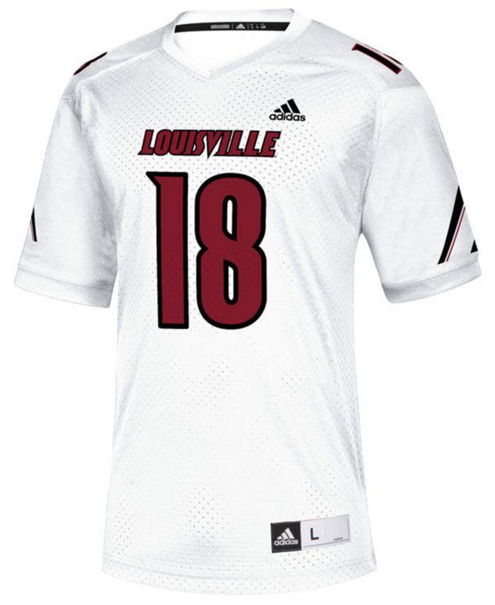 Adidas Men's Louisville Cardinals Replica Football Jersey & Reviews - Sports Fan Shop By Lids - Men - Macy's