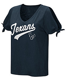 Touch by Alyssa Milano Women's Houston Texans First String T-Shirt