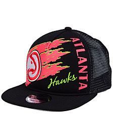 New Era Atlanta Hawks Swipe Trucker 9FIFTY Snapback Cap