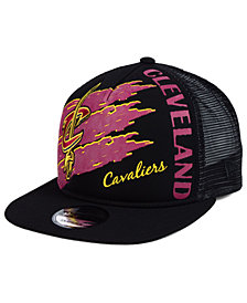 New Era Cleveland Cavaliers Swipe Trucker 9FIFTY Snapback Cap