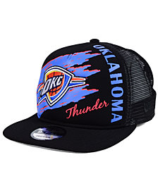 New Era Oklahoma City Thunder Swipe Trucker 9FIFTY Snapback Cap