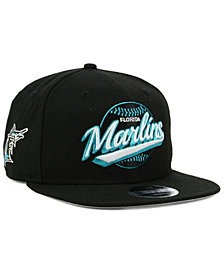 New Era Florida Marlins Vintage 9FIFTY Snapback Cap