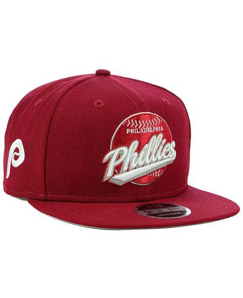 New Era Philadelphia Phillies Vintage 9FIFTY Snapback Cap