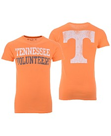 Retro Brand Men's Tennessee Volunteers Team Stacked Dual Blend T-Shirt