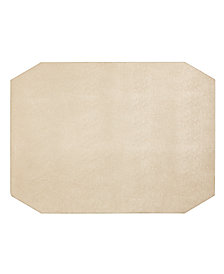 Hotel Collection Faux Leather Champagnie Placemat