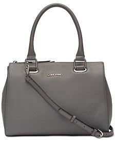 Calvin Klein Halle Pebble Satchel