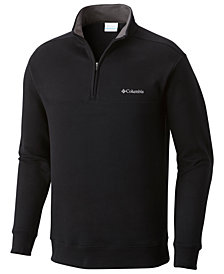 Columbia Men's Big & Tall Hart Mountain Quarter-Zip Sweatshirt